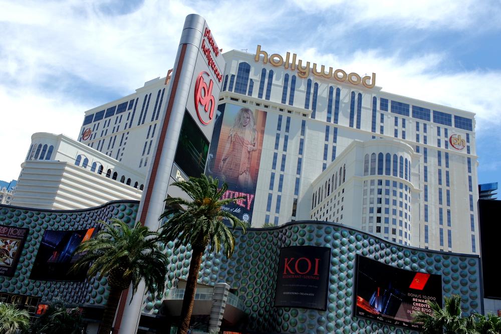 Vegas Strip Planet Hollywood