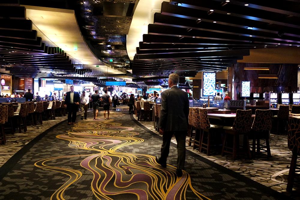 Vegas casino interior