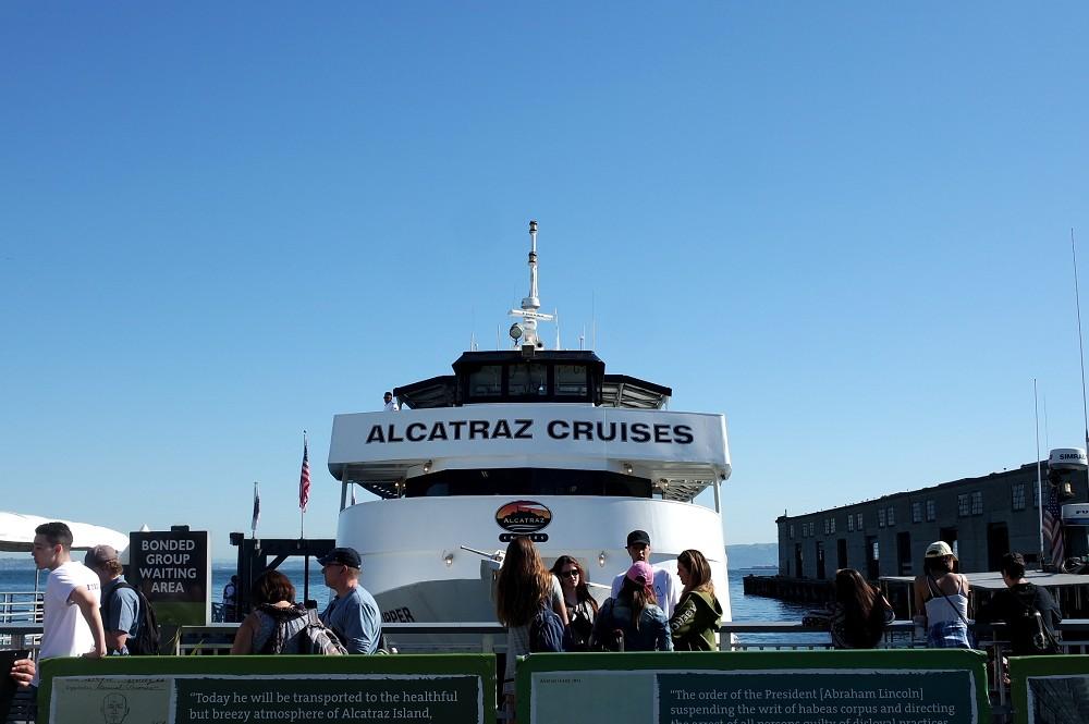 Alcatraz Cruises boat