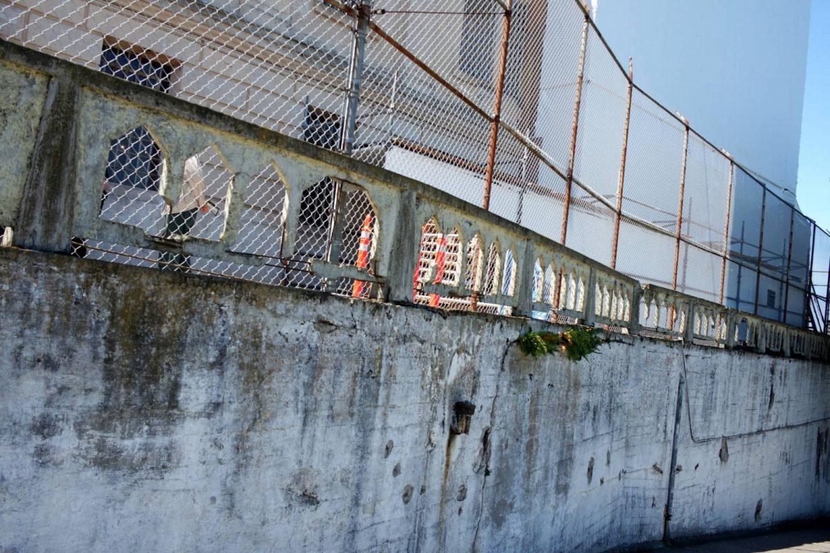 Alcatraz Island Walls