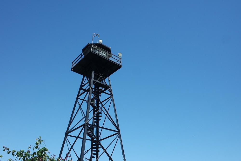 Alcatraz Island watchtower