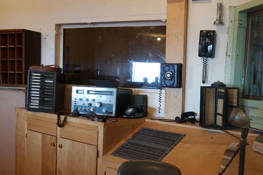 Alcatraz Tour Control Roomn
