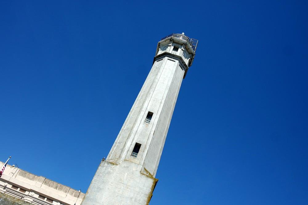 Alcatraz Tour Outside Lighthouse