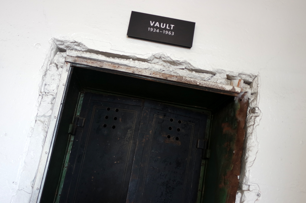 Alcatraz Tour Vault