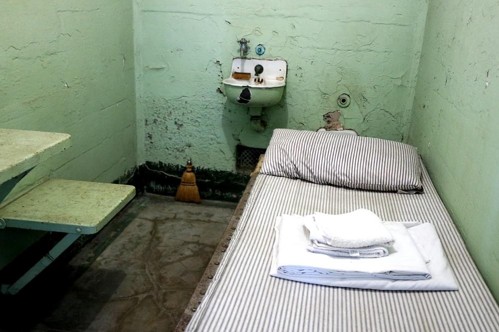 Alcatraz Tour cell interior
