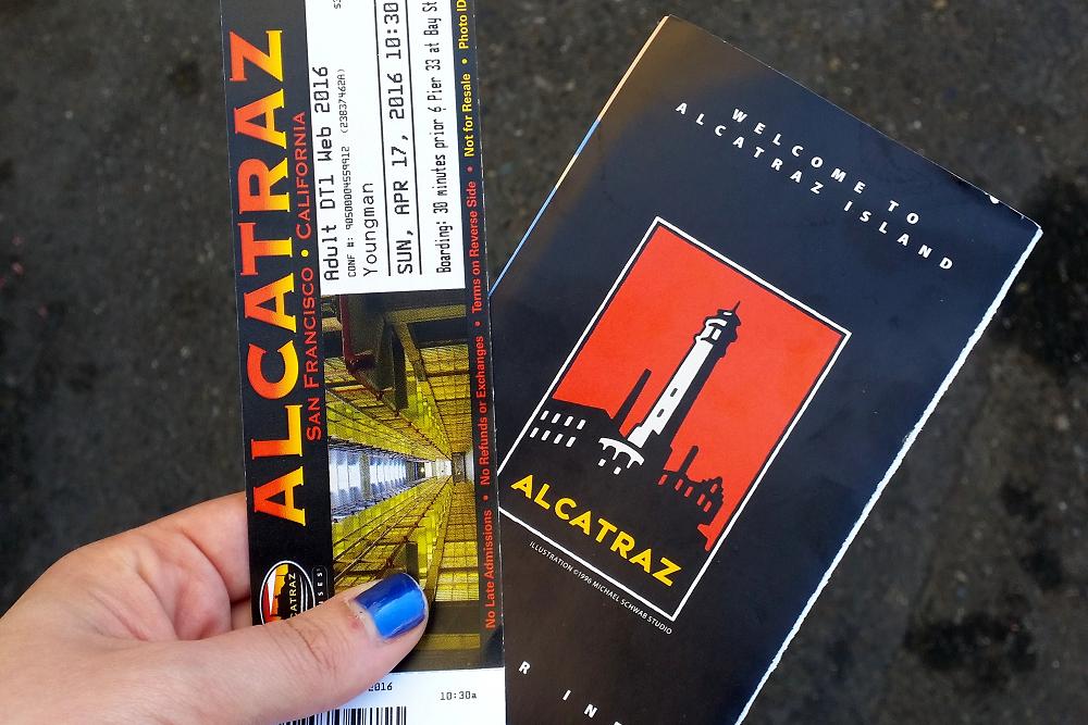 Alcatraz tickets