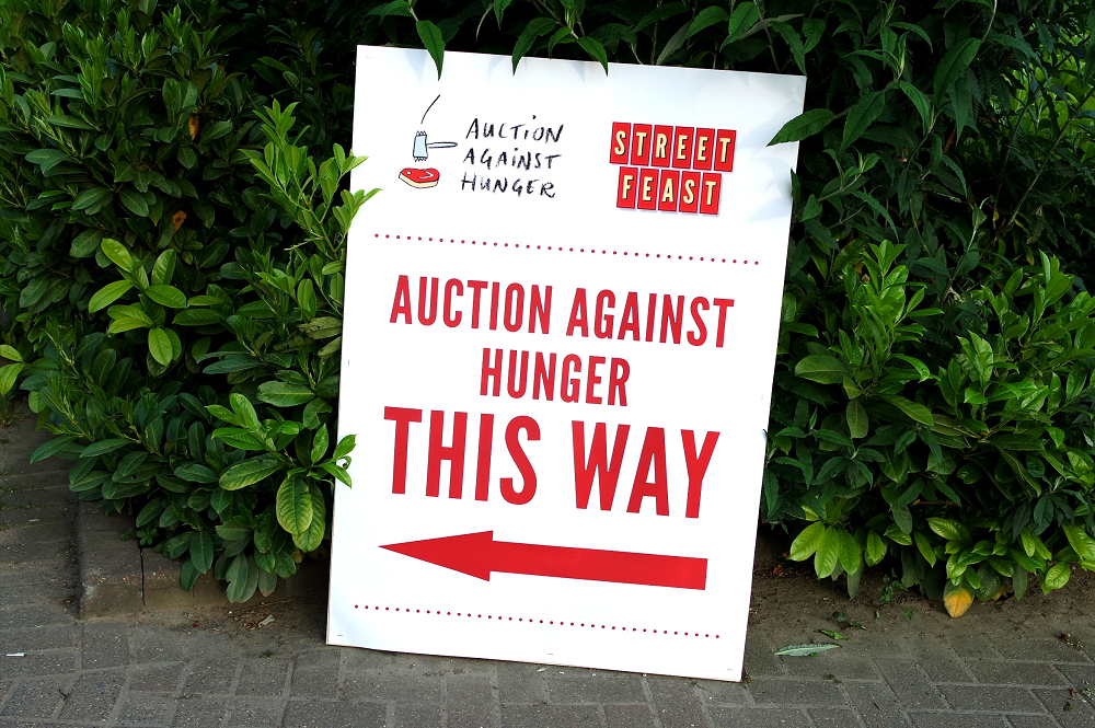 Auction Against Hunger 2016