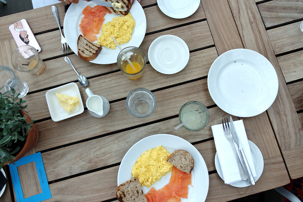 Boundary Roof Terrace London Breakfast