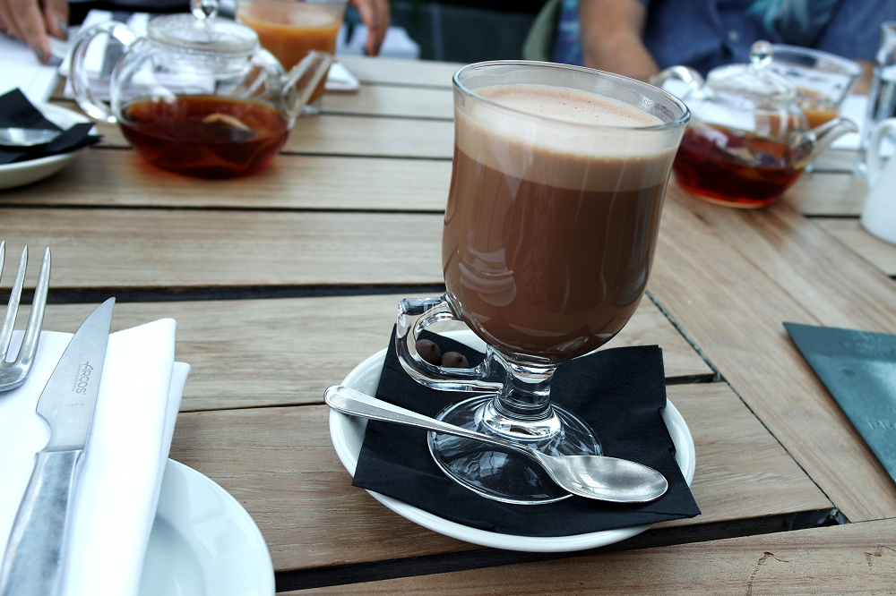 Boundary Roof Terrace London Hot Chocolate