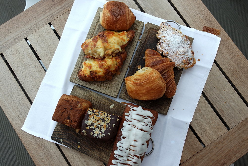 Boundary Roof Terrace London Pastries