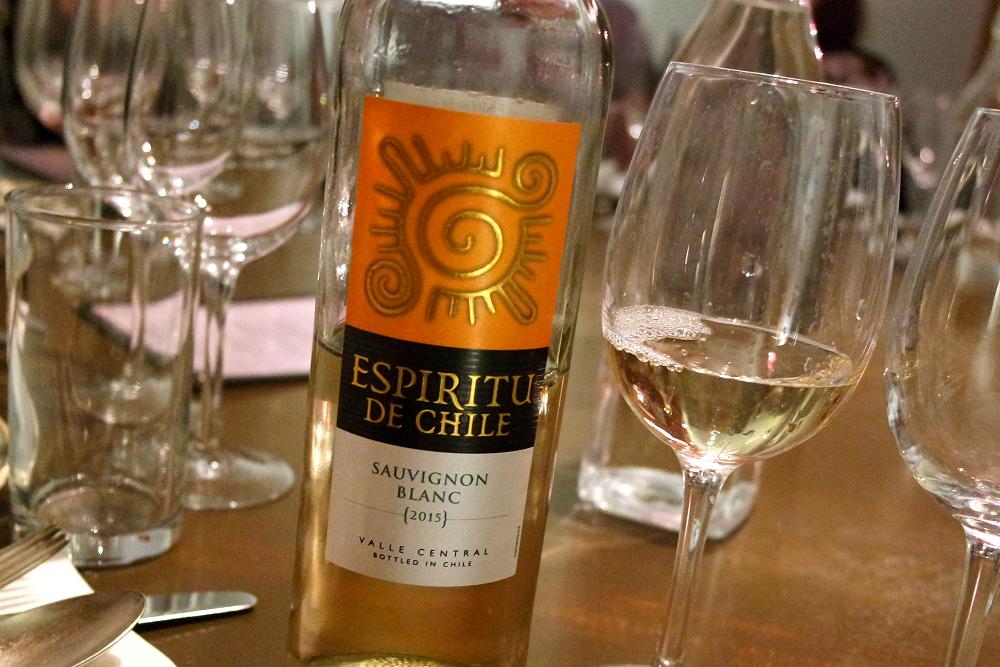 Espiritu De Chile White Wine Tasting