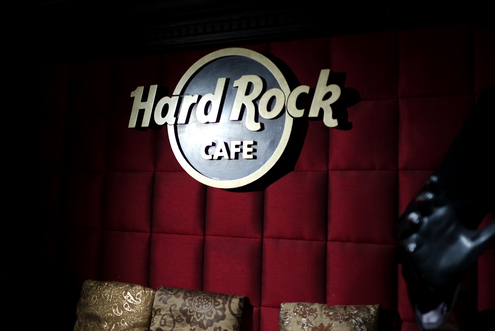 Hard Rock Cafe Vaults London
