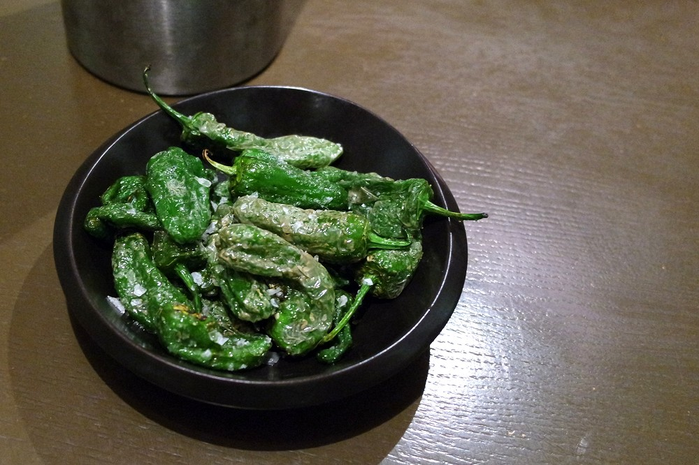 Pachamama London Padron Peppers