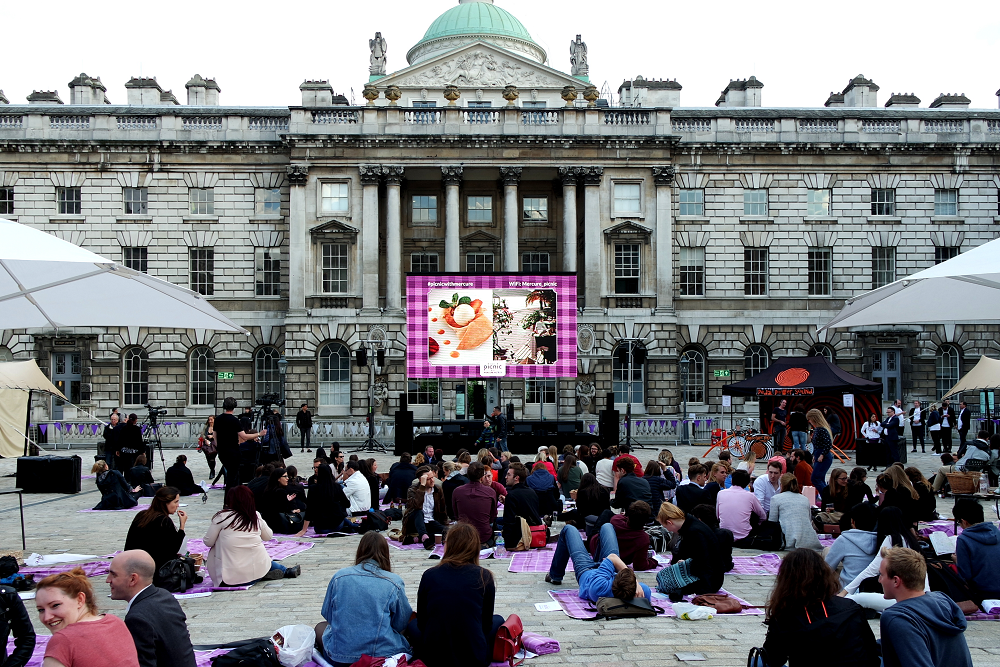 A Picnic With Mercure at Somerset House