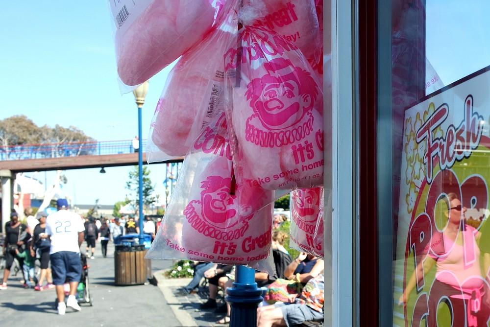 Candyfloss, San Francisco Pier 39