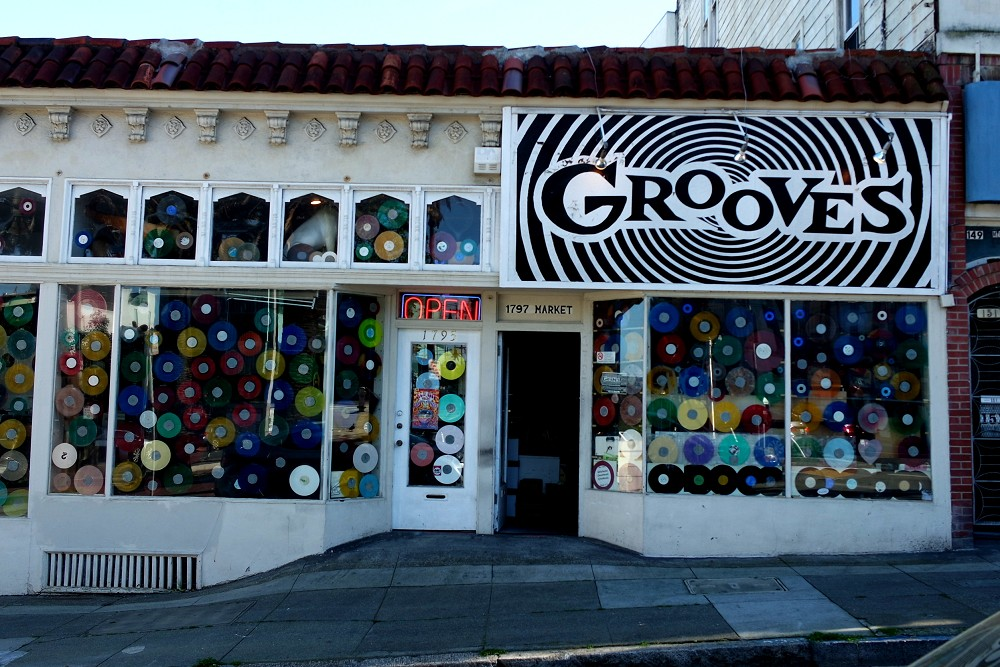 Grooves Record Store, San Francisco