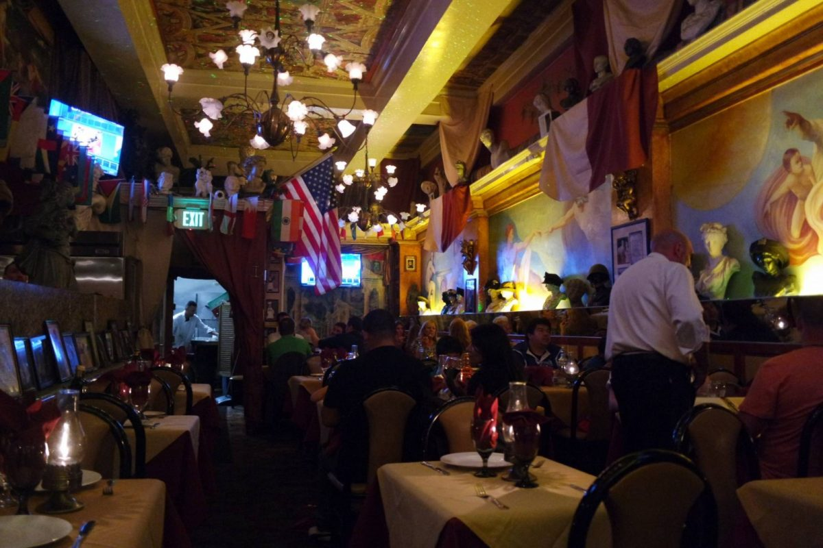 Mona Lisa Restaurant, Little Italy, San Francisco