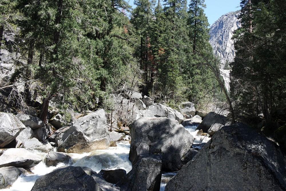 Yosemite Falls Hike river