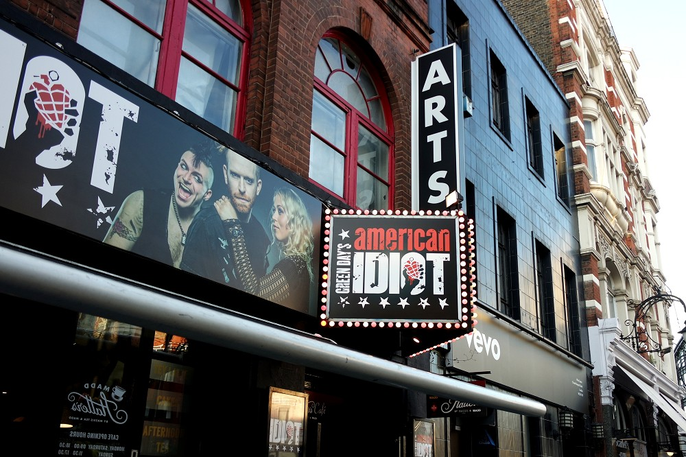 American Idiot the Green Day Musical blog review