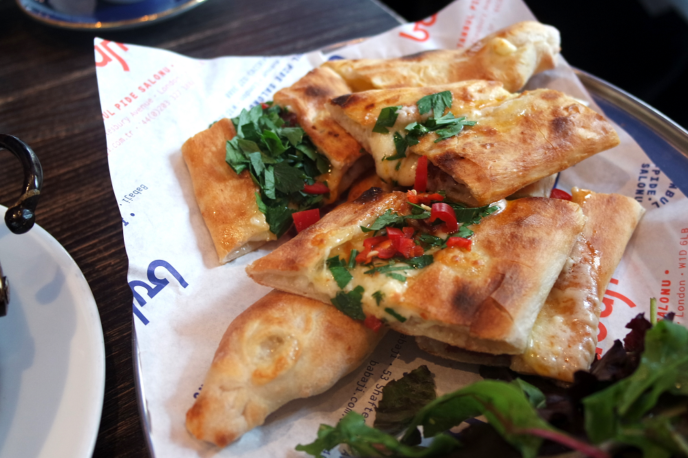Babaji Restaurant London Turkish Pide