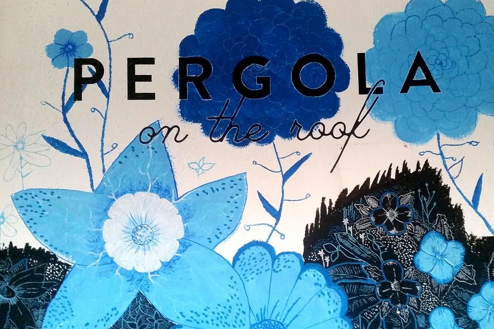 Pergola on the Roof BBC Television Centre