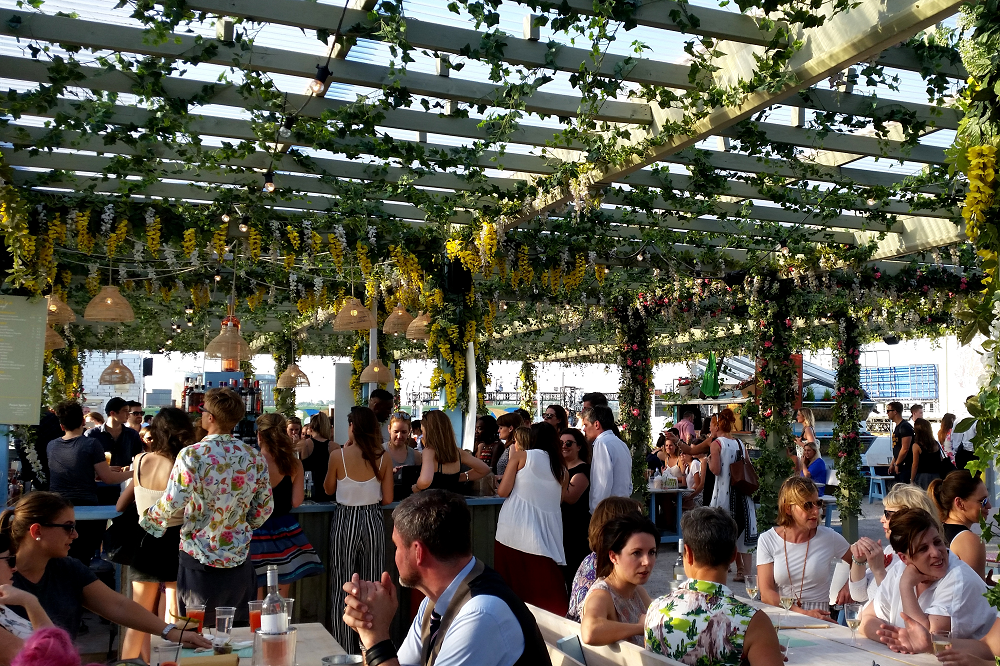Pergola on the Roof Pop Up @ Television Centre