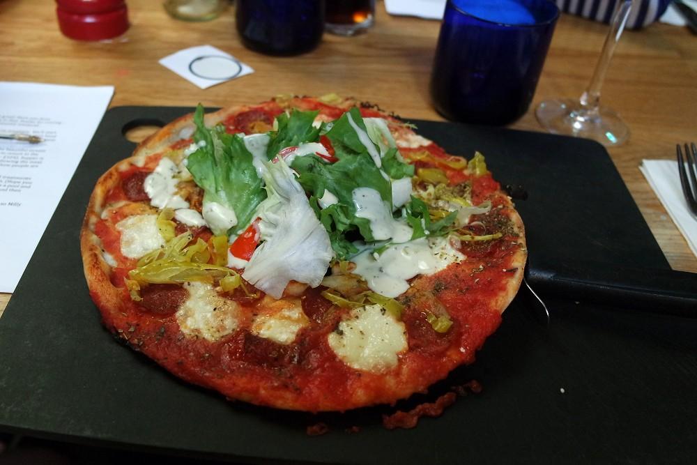 Pizza Express Leggera American Hot