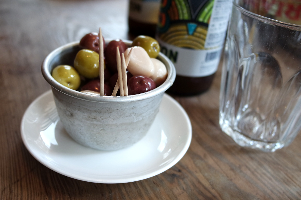 Pizza Pilgrims Olives | The Best Pizza in Soho