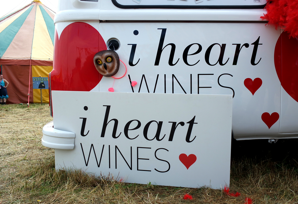 Truck Festival 2016 I Heart Wines Van