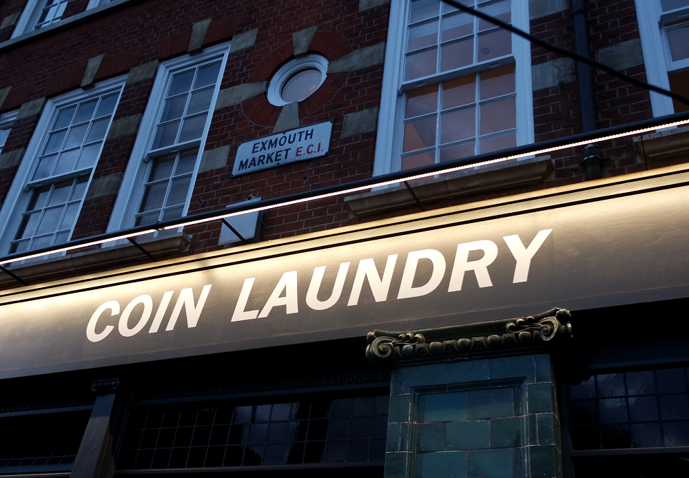 Coin Laundry restaurant and bar London