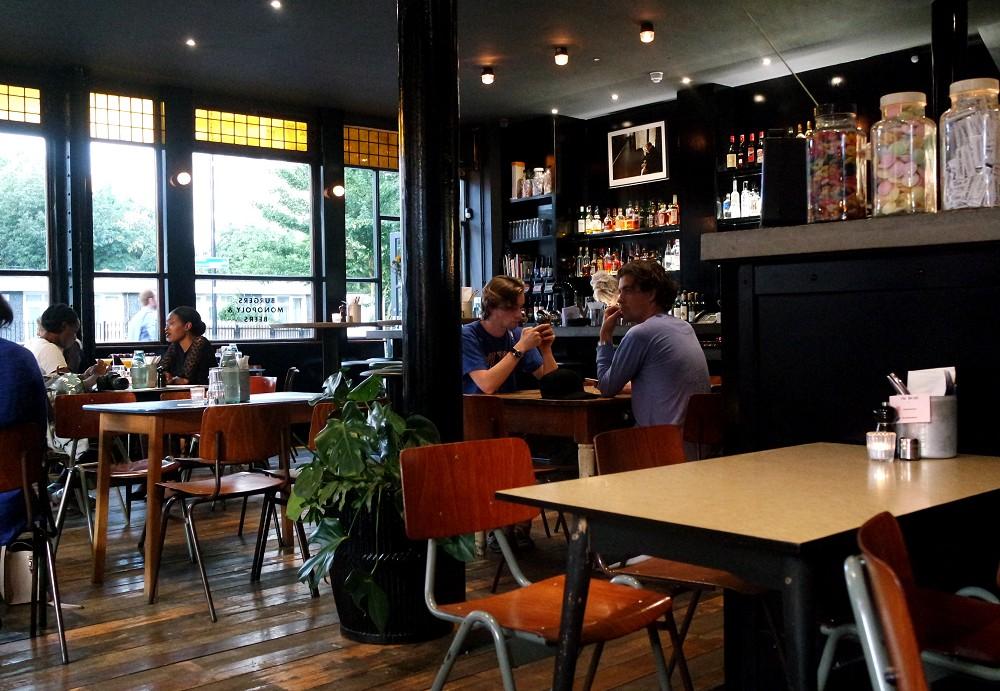 Coin Laundry restaurant and bar London