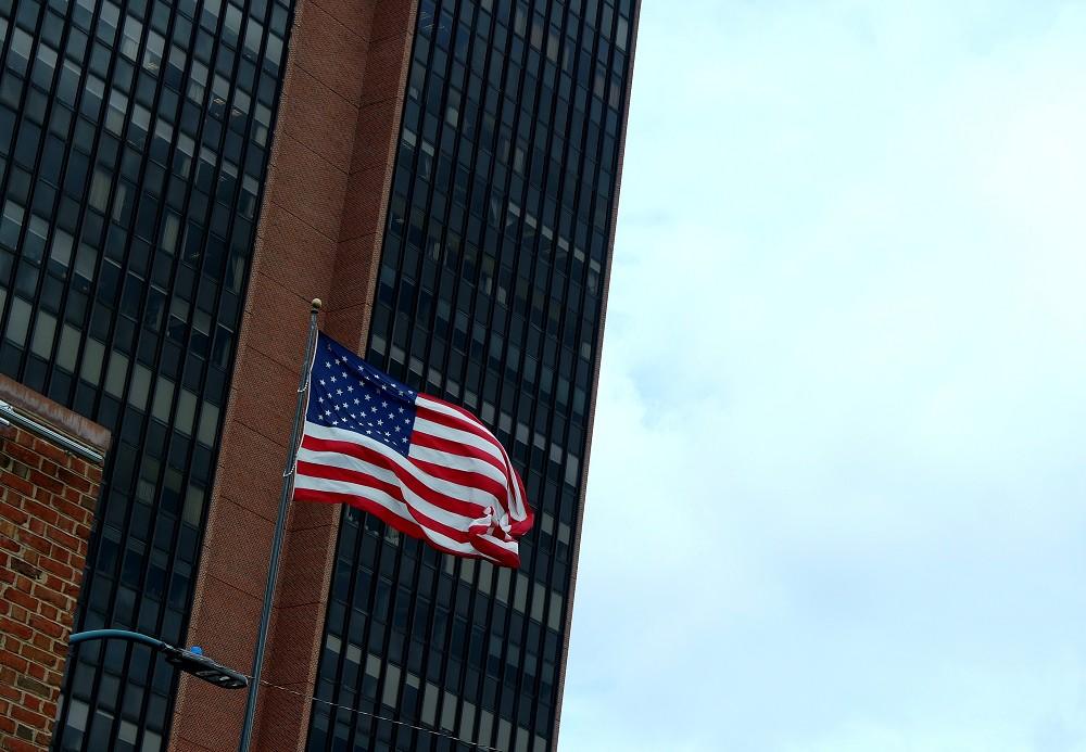 Philadelphia American Flag