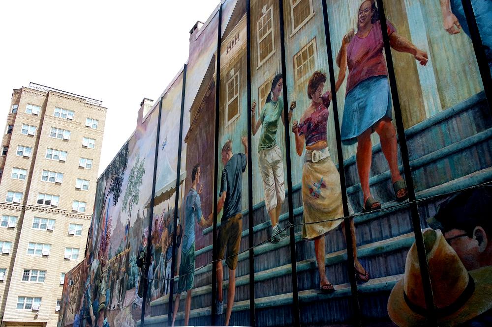 Philadelphia equality mural