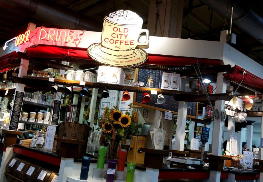 Philadelpia Reading Terminal Market Coffee