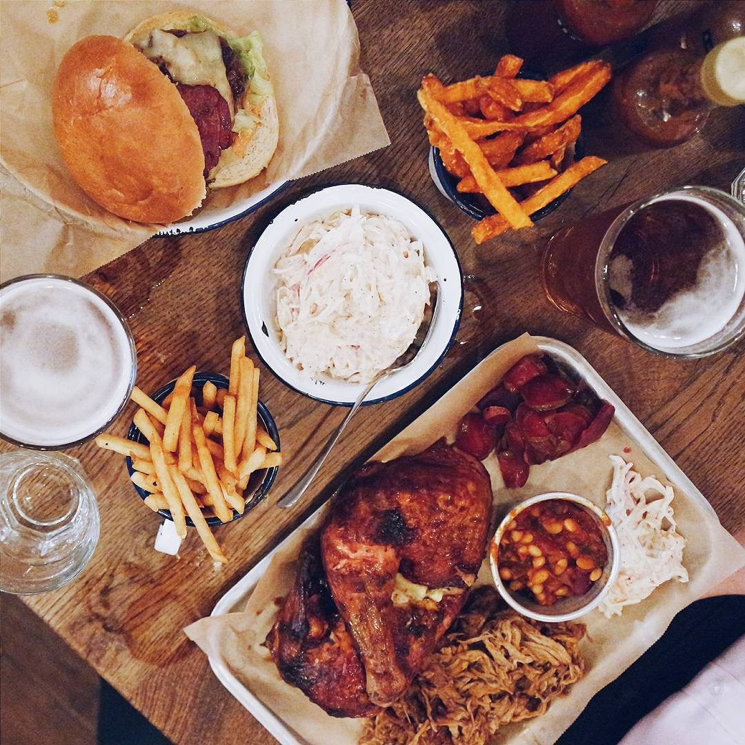 Food Memphis In London At Porky S Bbq Mini Adventures