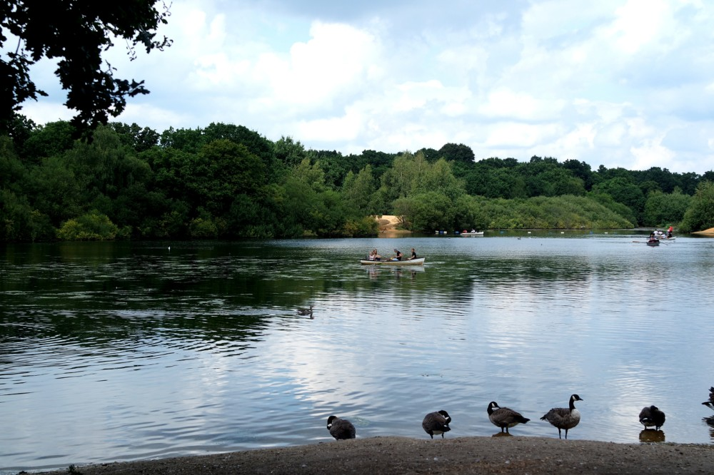 Whipps Cross Hollow Pond Boating Lake