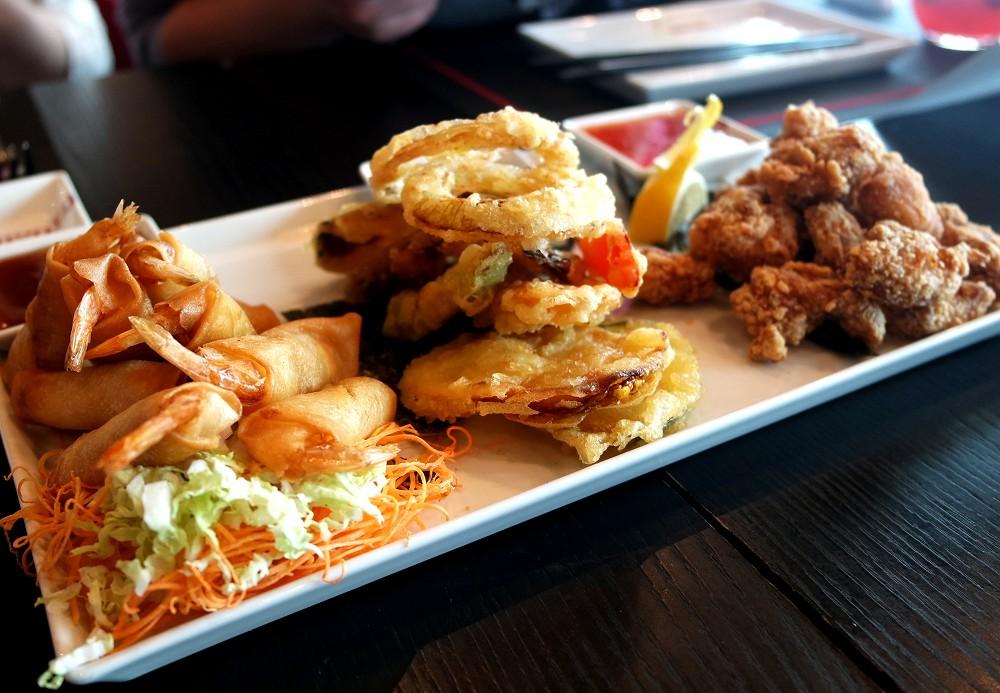 Izumi Restaurant Hot Appetisers