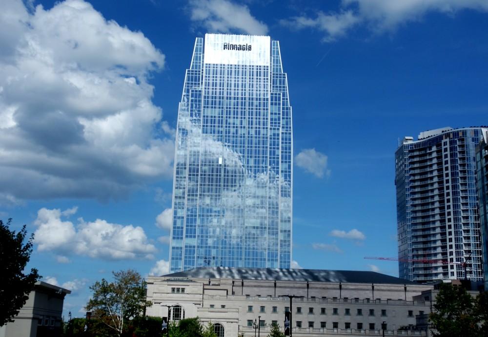 Nashville reflective building