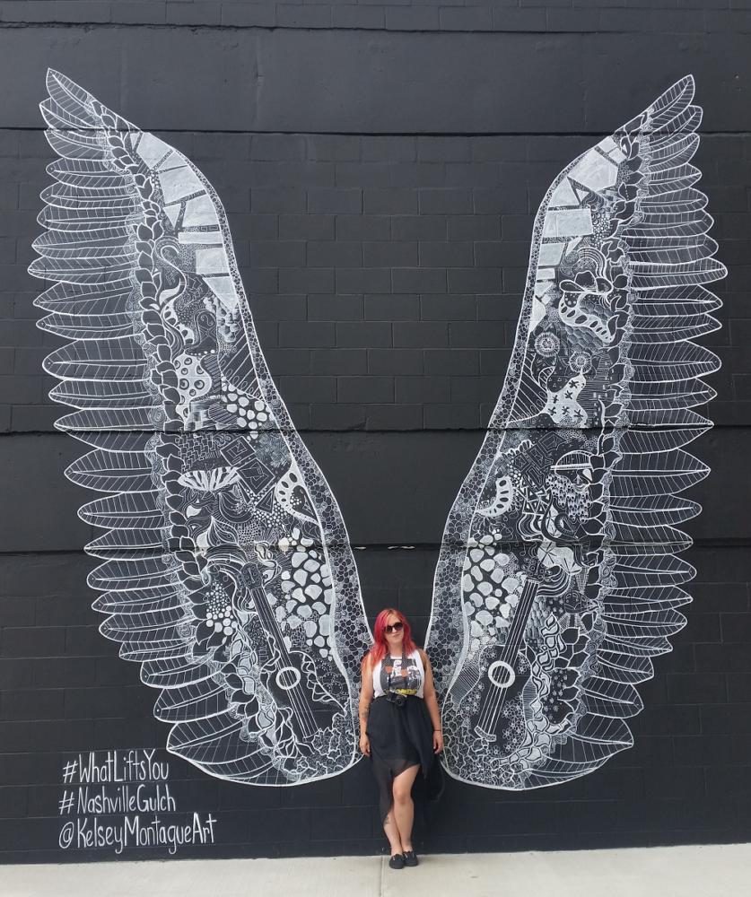 Nashville Wings street art