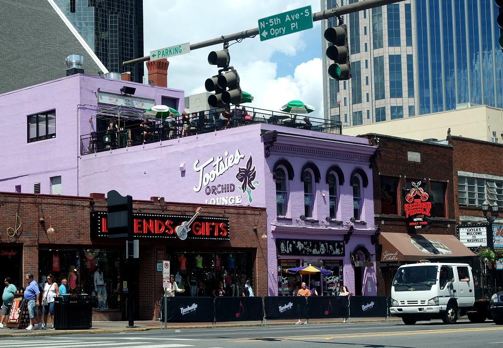 Orchid bar in Nashville