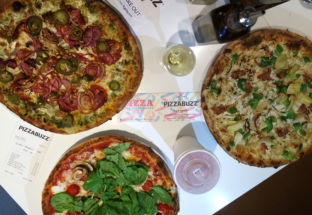 Pizza Buzz restaurant review London