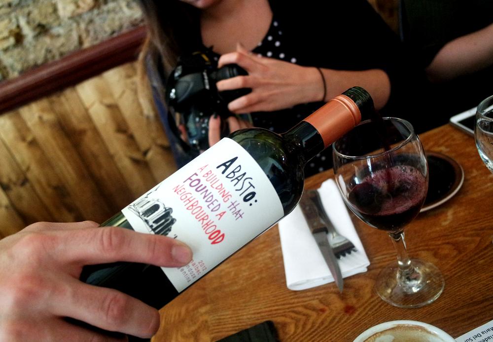 Santa Maria Del Sur Argentinian Restaurant London Wine