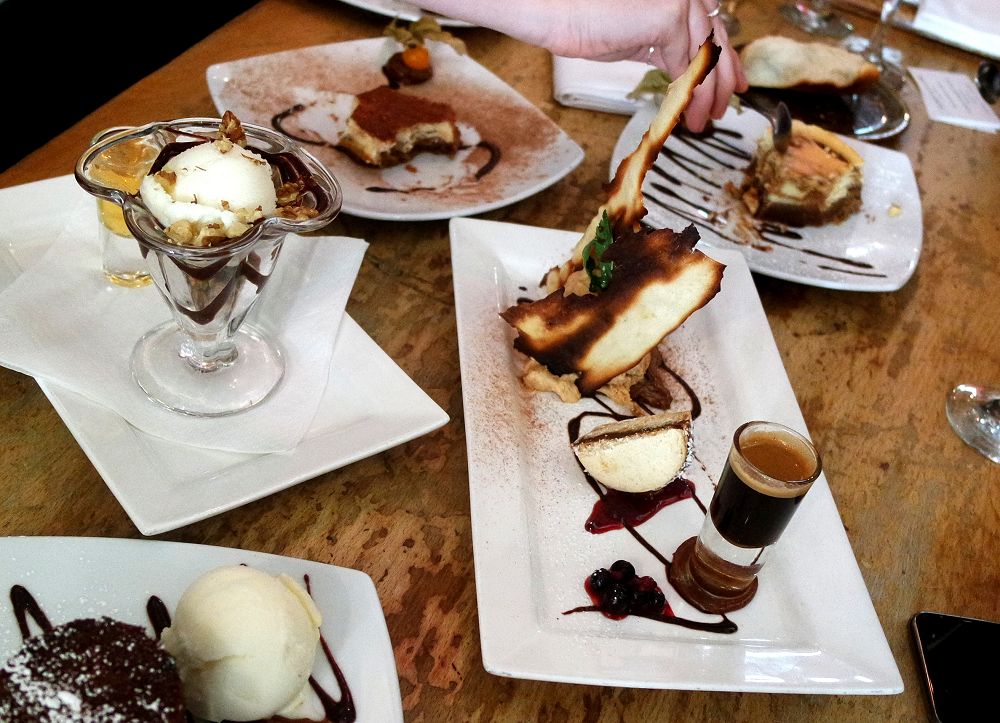 Santa Maria Del Sur Argentinian Steak Restaurant London Desserts