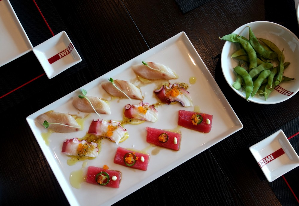 Sushi at Izumi on the Navigator of the Seas
