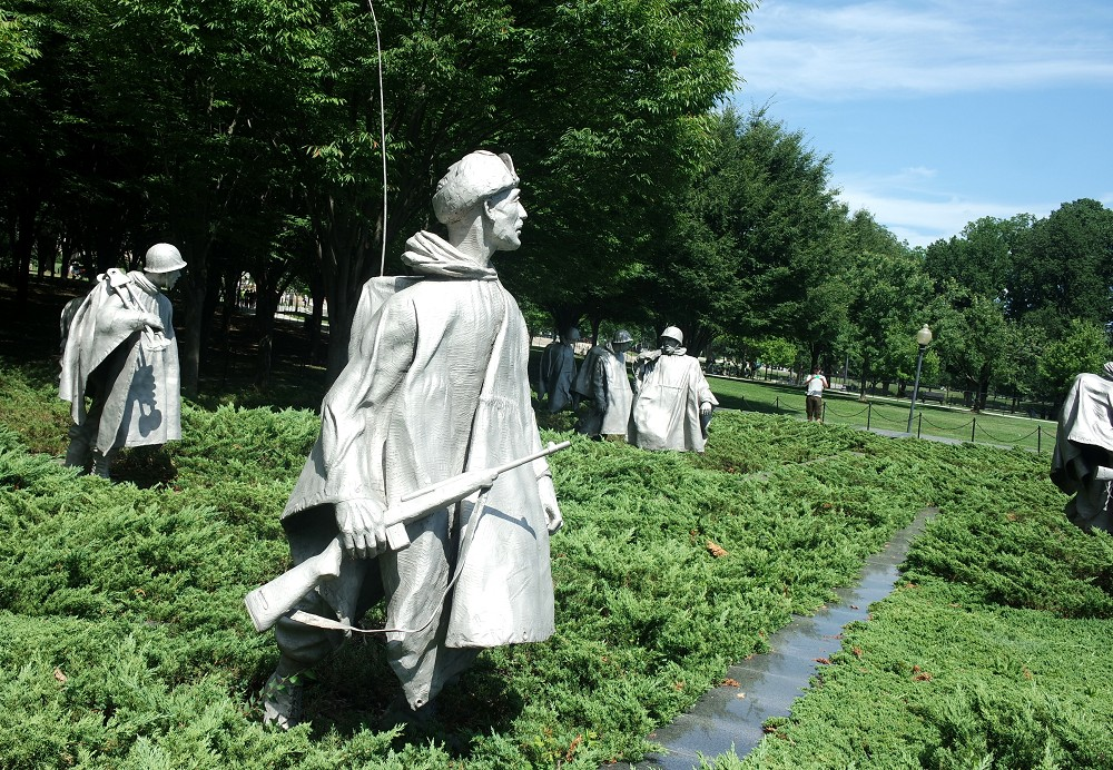Washington DC Korean War Memorial 2