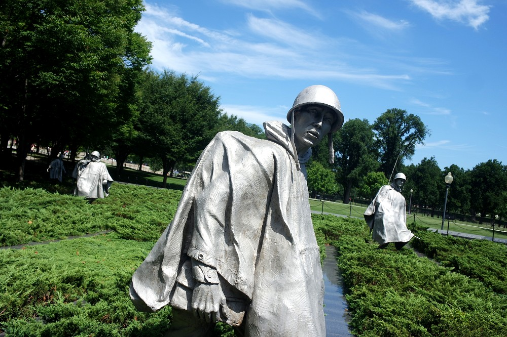 Washington DC Korean War Memorial 3