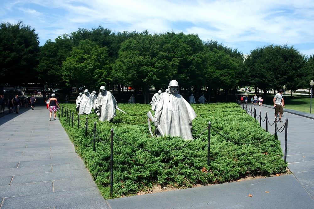 Washington DC Korean War Memorial 4