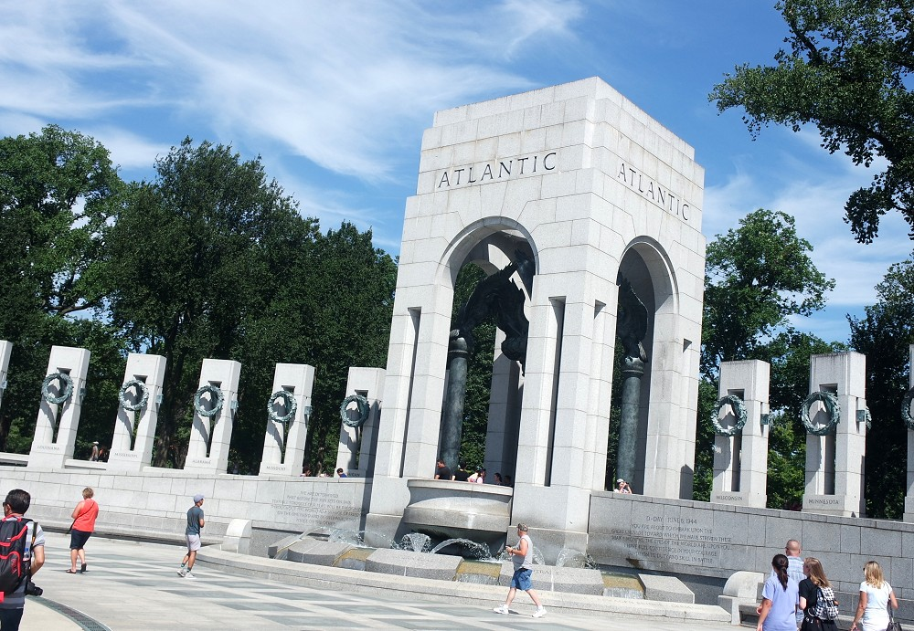 Washington DC World War 2 Memorial