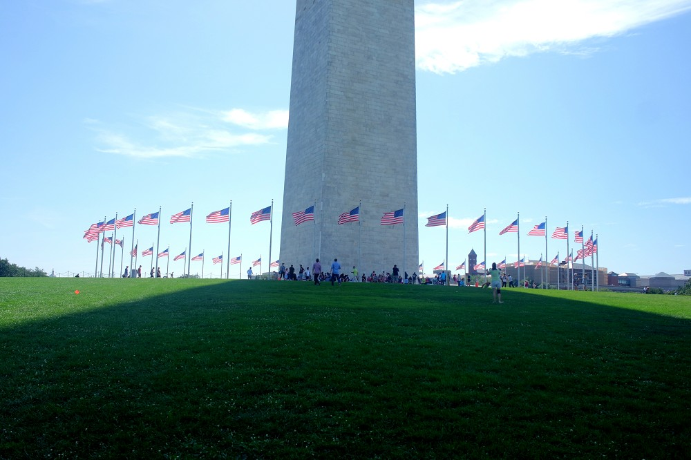 Washington Monument Flags