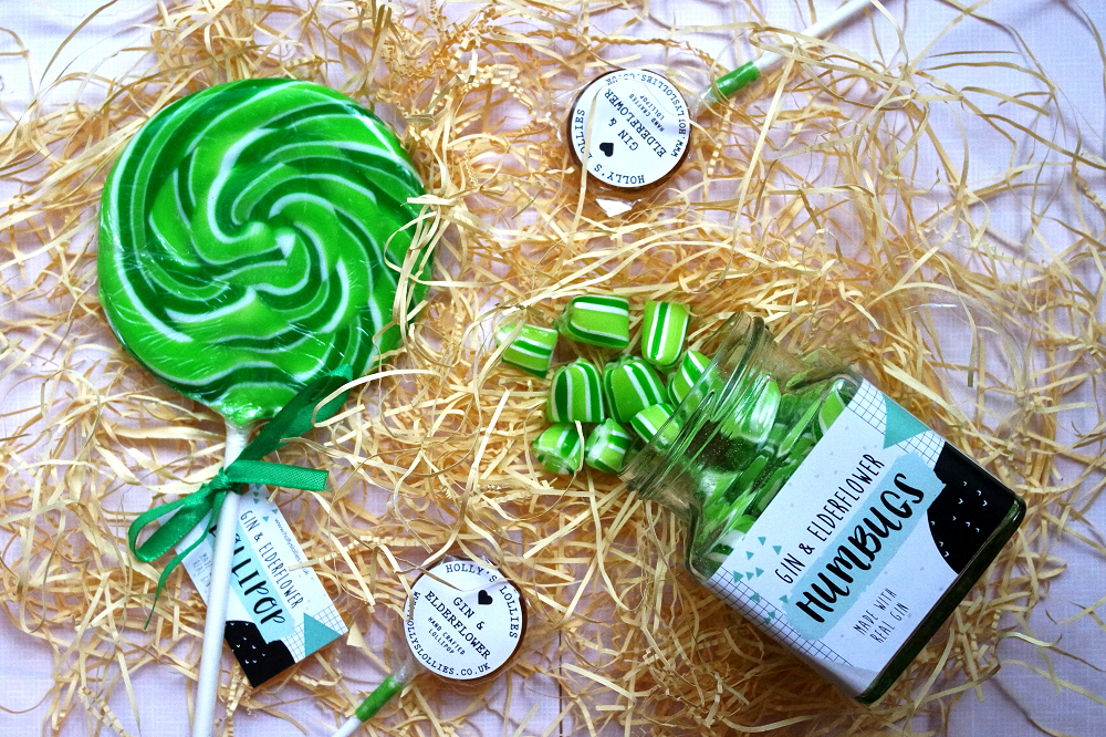 Alcoholic lollipops and sweet gifts